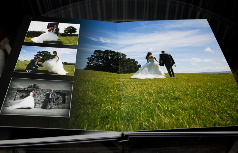 Album example designs north east and yorkshire photography