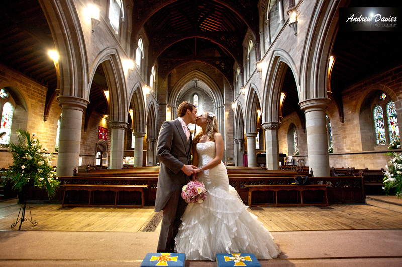 bridal portrait HDR church photo � www.andrew-davies.com