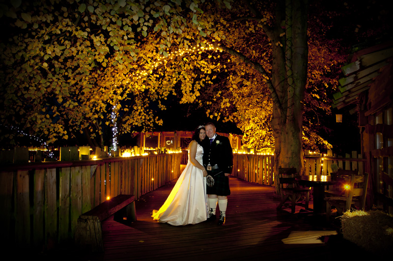 Alnwick Treehouse Wedding Photographer Northumberland