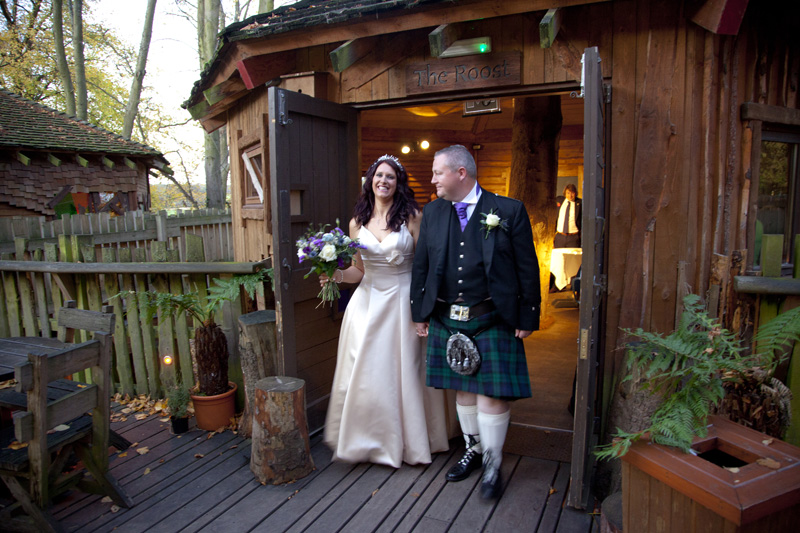wedding photos from alnwick treehouse  north east and