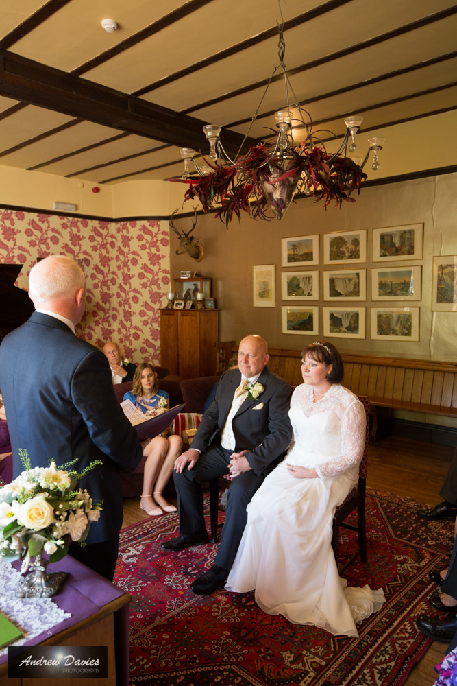 Augill Castle Cumbria Wedding Photo