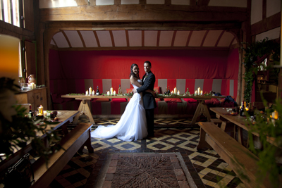 barley hall york wedding photo