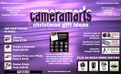 Local camera shop were looking for inspiration christmas ad