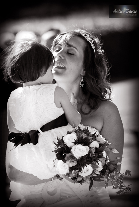 Candid Wedding Photography precious moment � www.andrew-davies.com