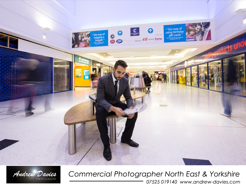Commercial Photographer Teeeside new Cleveland Centre Brochures