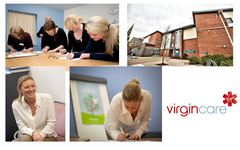 virgin care corporate photographer stockton on teesside
