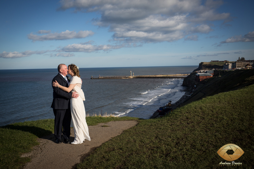 Cross Butts Whitby North Yorkshire Wedding Photographer Andrew Davies