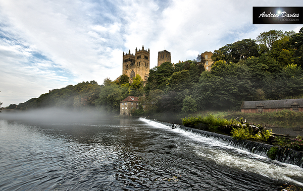 Durham Cathedral and River print