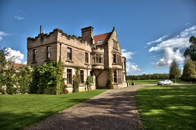 ellingham hall wedding northumberland photograph by andrew davies