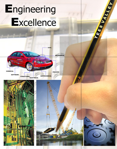 Design for new Engineering Supplement for the Evening Gazette - November 2007