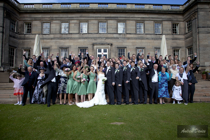 Formal Group Shot Wedding Photography � www.andrew-davies.com