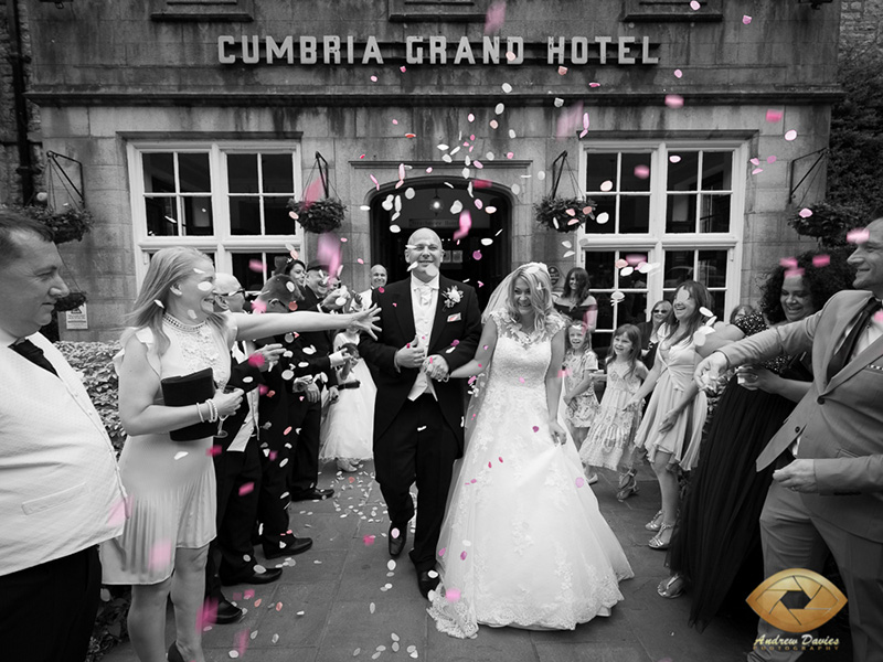 grand hotel lake district cumbria wedding photographer photo by Andrew Davies