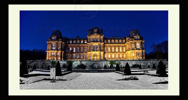 Bowes Museum Landscape Print Yorkshire Photo