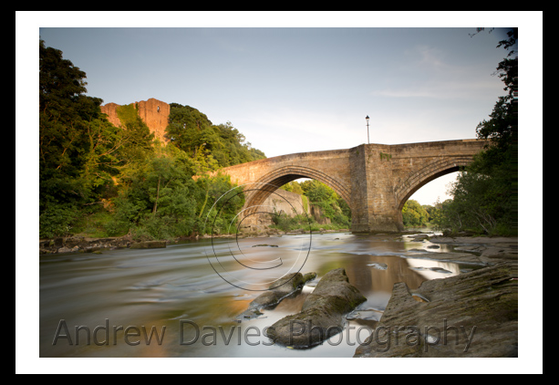 Barnard Castle Yorkshire Landscape Print Photo