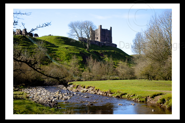 Brough Castle Yorkshire Landscape Print Photo