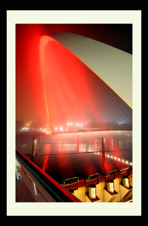 Fog on the Tyne north east landscape print