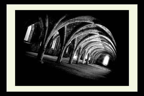 Fountains Abbey Yorkshire Landscape Print Photo