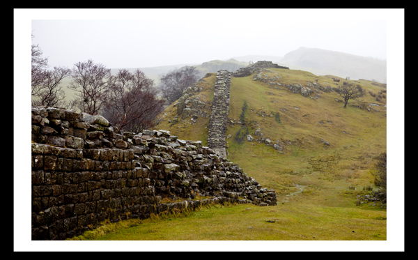 Hadrians Wall Northumberland North East Landscape Print Photo