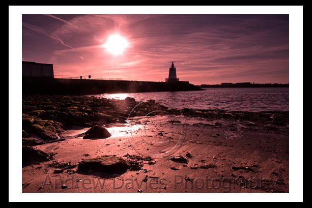Hartlepool Headland in colour