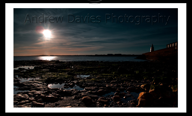 Hartlepool Headland and jetty