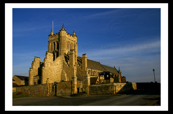 Hartlepool Headland Church north east landscape photo print