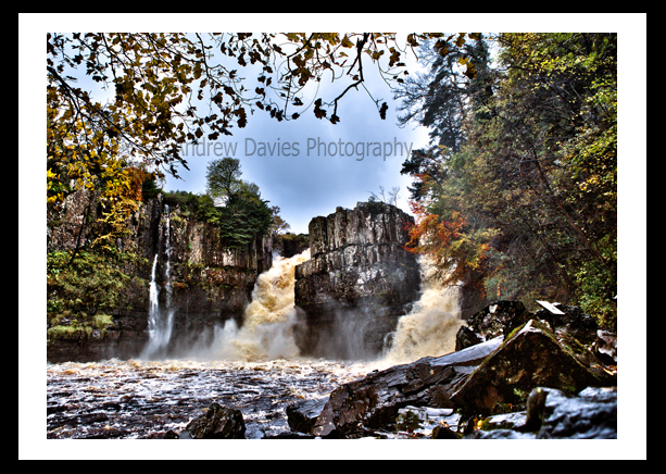 High Force Falls Yorkshire Landscape Print Photo