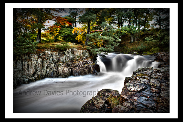 Low Force Falls Yorkshire Landscape Print Photo