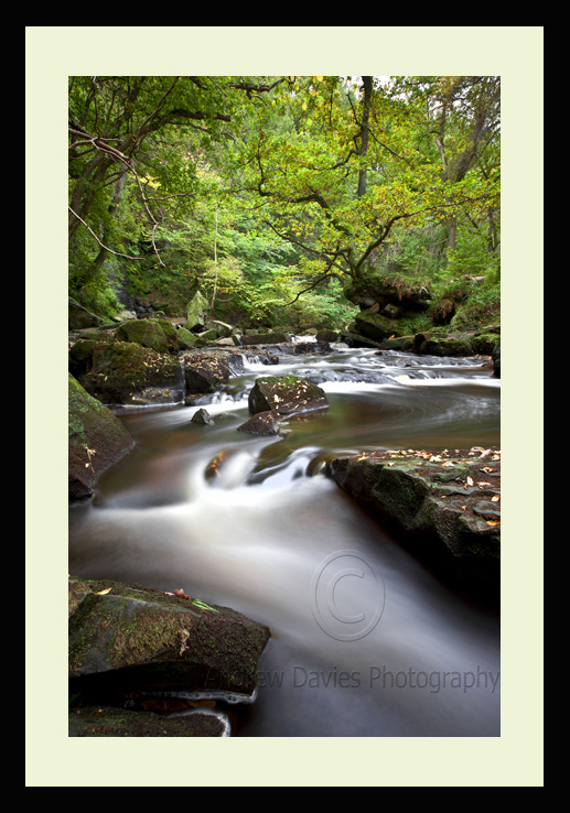 mallyan spout falls yorkshire landscape print photo