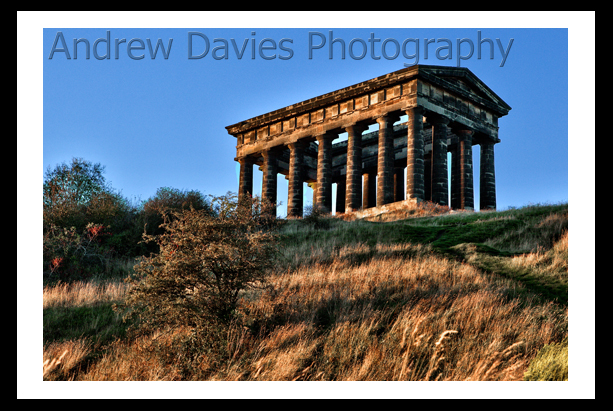Penshaw monument north east landscape print