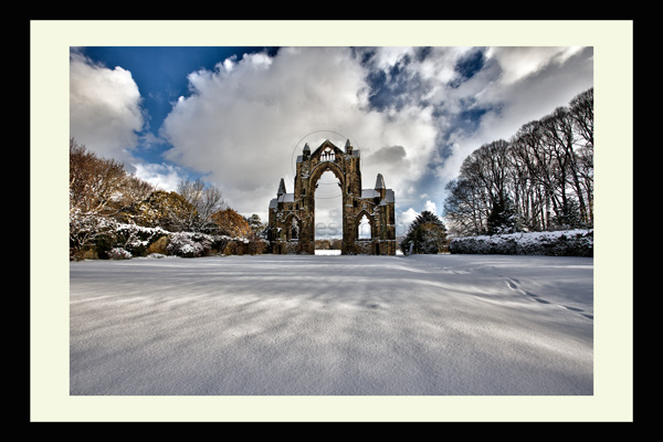 Guisborough Priory North Yorkshire Landscape Print Photo
