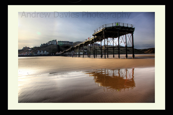Saltburn by the sea pier photo print
