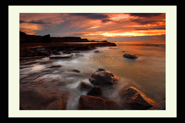 Saltwick Bay Whitby Landscape print photo