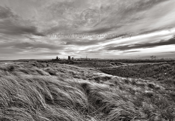 south gare redcar print industrial