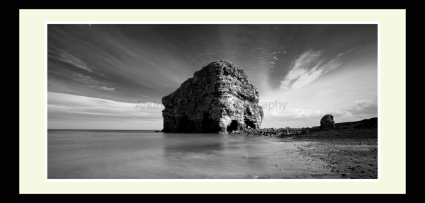 Marsden Rock north east landscape print photo