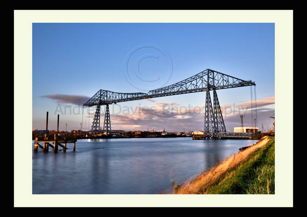 middlesbroughs iconic transporter bridge photo