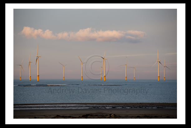 Redcar OffShore Wind Farm photo print