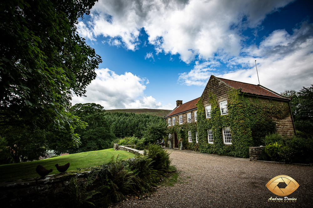 laskill country house wedding photographers photo main frontage