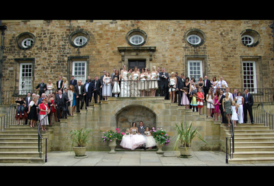 lumley castle wedding venue photos
