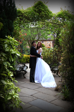 wedding photos lumley castle