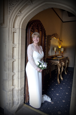 wedding photos otterburn hall northumberland