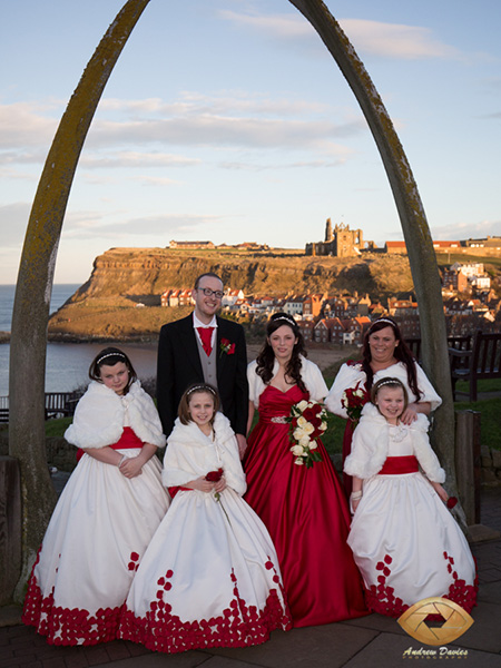 whitby wedding photographer family photo