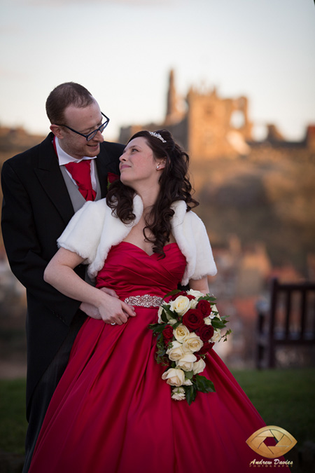 whitby wedding photographer abbey