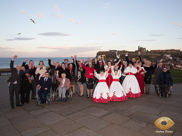 whitby wedding photographer group
