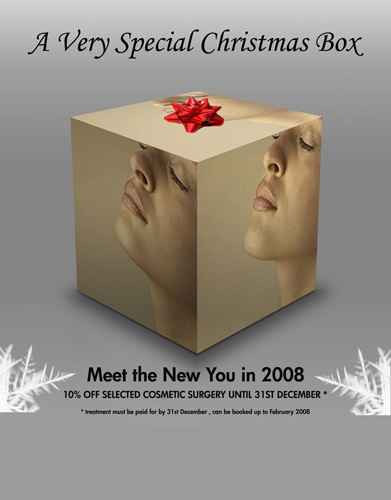 Advert Design for Cosmetic Surgery Clinic